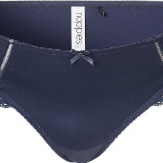 Noppies Zwangerschapsslip Micro Lace - Dark Blue - Maat M